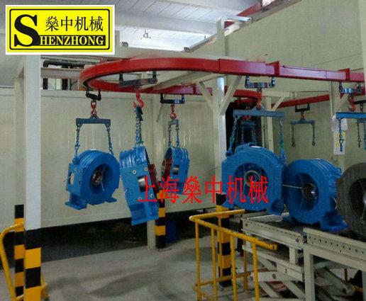 电梯主机组装线、电梯主机流水线